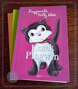 Książka z kotkiem w roli głównej dla najmłodszych słuchaczy i czytelników. Zapraszam   #holly_webb #przyjaciele_holly_webb #kotek_pingwin #książki_dla_dzieci