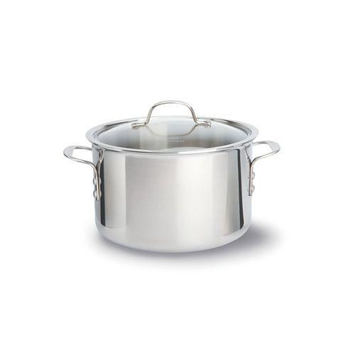 Calphalon Tri-Ply Stainless 8 Quart Covered Stock Pot