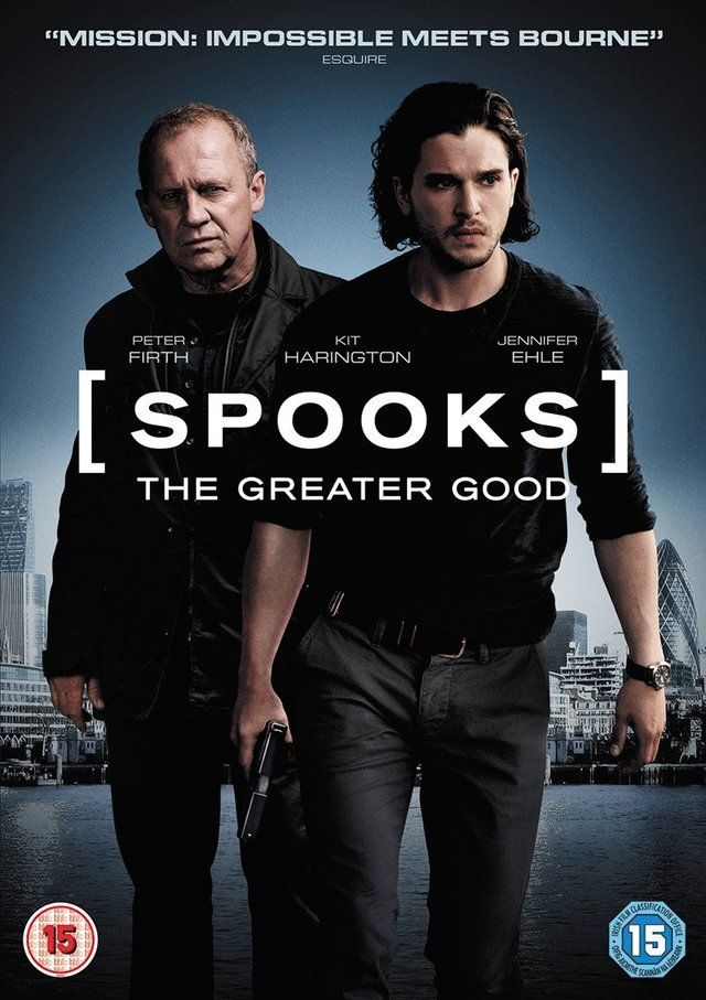 "Kit Harington in new movie ""Spooks, The Greater Good""."