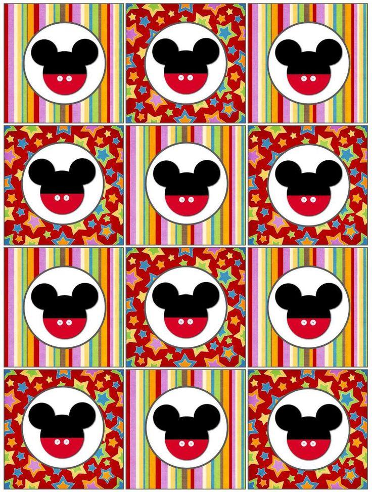Kit Imprimible Minnie Y Mickey Mouse - BsF 50,00 en MercadoLibre