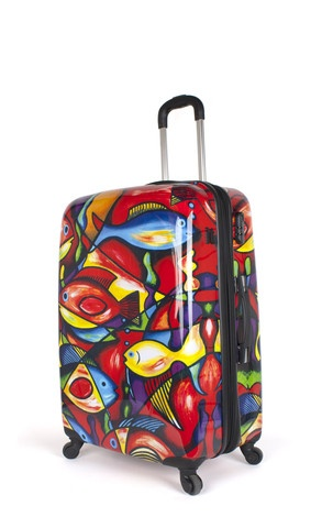 10 best Fun Suitcases images on Pinterest | Suitcases, Crafting ...