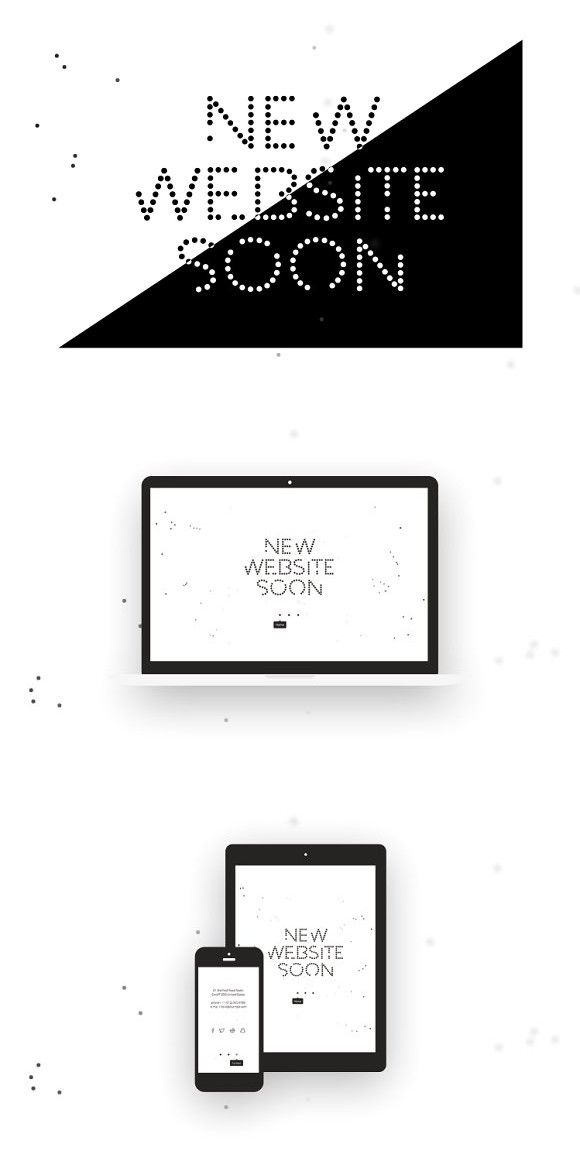 Weso - Coming soon theme. WordPress Landing Page Themes. $9.00