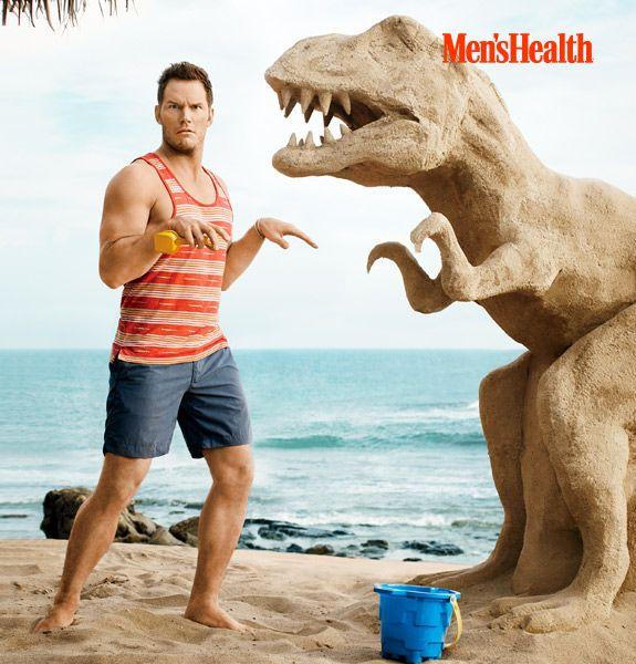 July Issue of Men's Health Cover Guy Chris Pratt | Men's Health