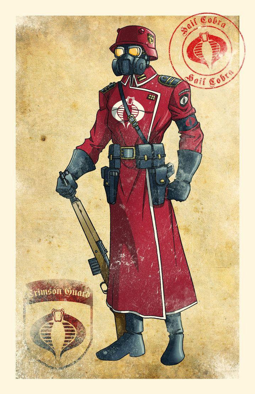 World War II Inspired G.I.Joe and Cobra Art By El Mono Cromático - GI Joe News