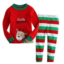 Retail 2016 spring autumn New fashin boys girls clothes set t-shirts+pants 2pcs children clothing suit christmas gift in stock(China (Mainland))