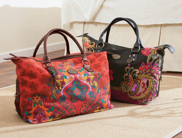 Marrakech Weekender Bags - Acacia 74.95.  Want this bag so bad.