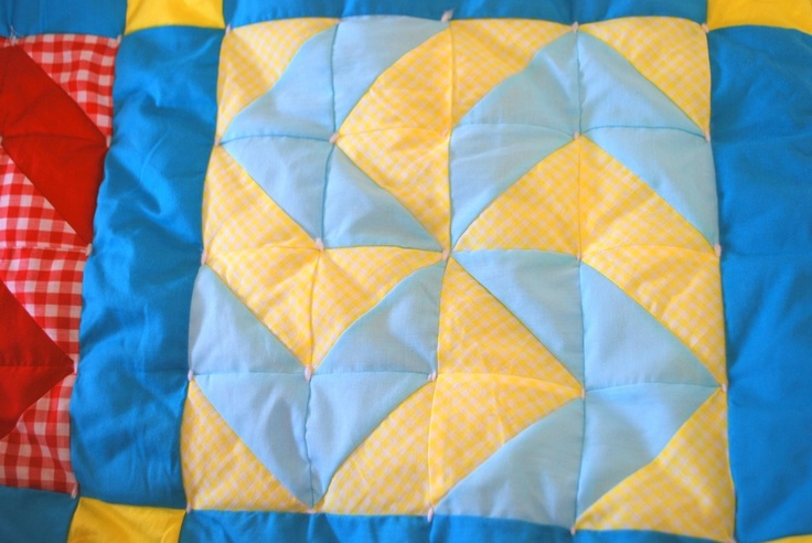 Inside Out Tied Quilt Tutorial How To Tie A Quilt Without