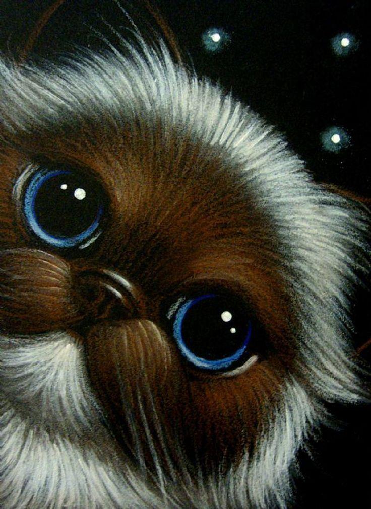 Cat Art...=^. ^=... ❤...Fantasy Himalayan Persian Cat by Artist Cyra R. Cancel...