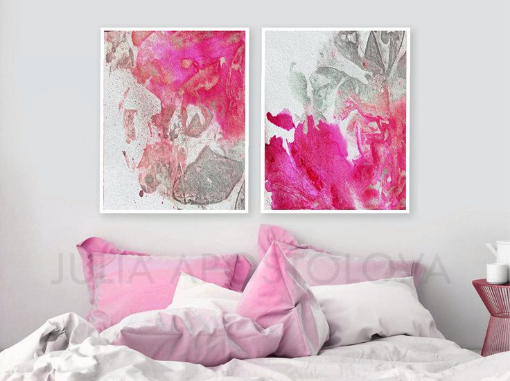 #Pink and #Grey #wallart Art #Set of 2 #Abstract #Setof2 #Printable #Gray #Silver #Decor #Abstract #prints #set #setoftwo #paintings #abstractart #abstractprints #modern #contemporary #printable #interior #design #homedecor #homedecorideas #homedecorideas