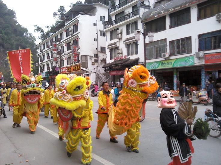 Day 25 - Festival in Yangshuo