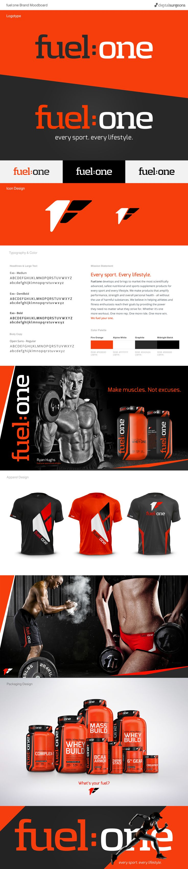 Fuel:one Brand Design https://www.behance.net/gallery/49740639/Fuelone-Branding-Design-Study