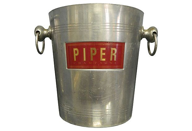 One Kings Lane Fabulousness French Piper Champagne Bucket