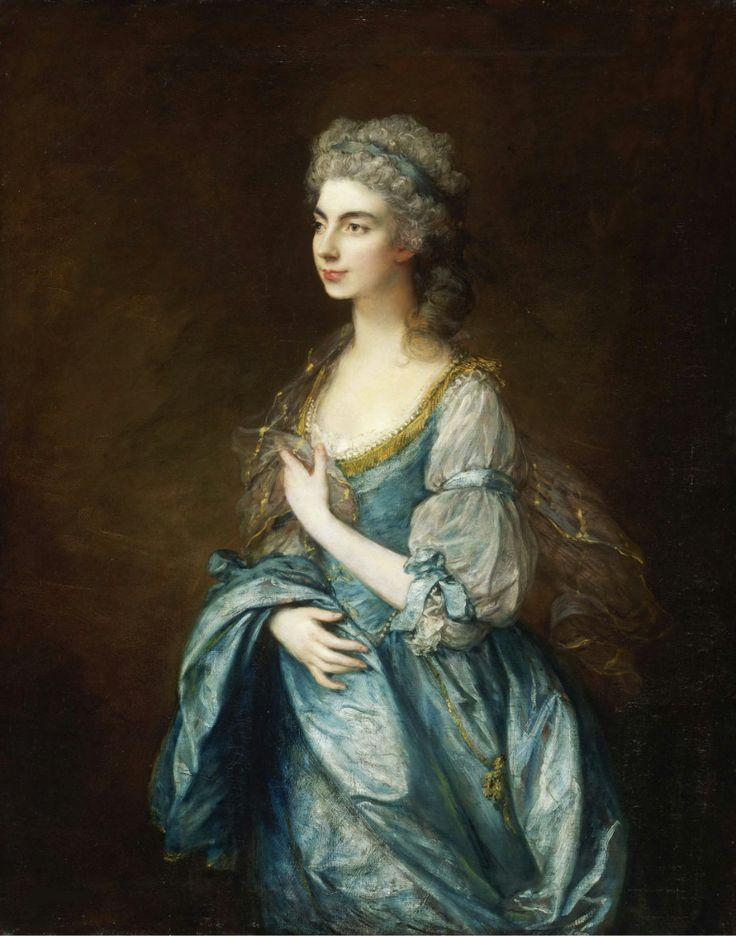 Thomas Gainsborough, English, 1727-1788 - Portrait of Lady Rodney (née Anne Harley)