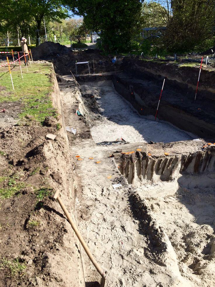 archeologisch onderzoek naar het kanaal van Corbulo.