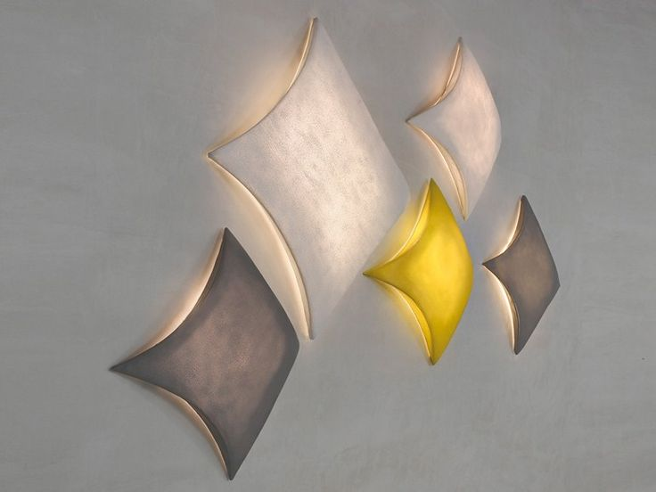 Silicone wall lamp / ceiling lamp KITE Kite Collection by arturo alvarez