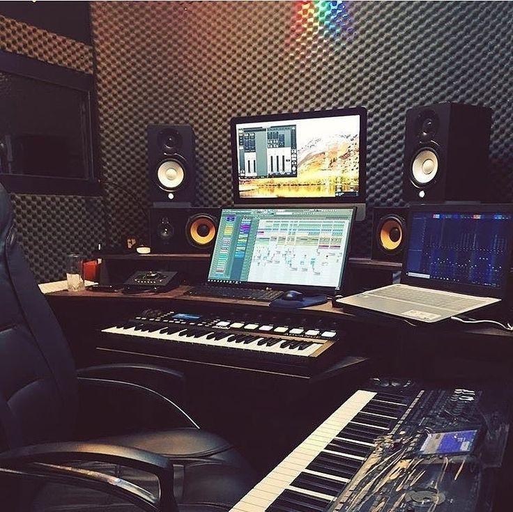 How inspiring are you today?  . . #studio #homestudio #musicproducer #producer #…