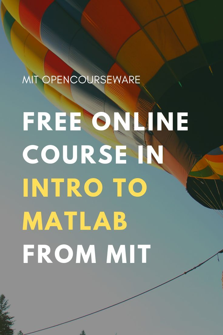 Introduction to MatLab | Free computer science and math courses at