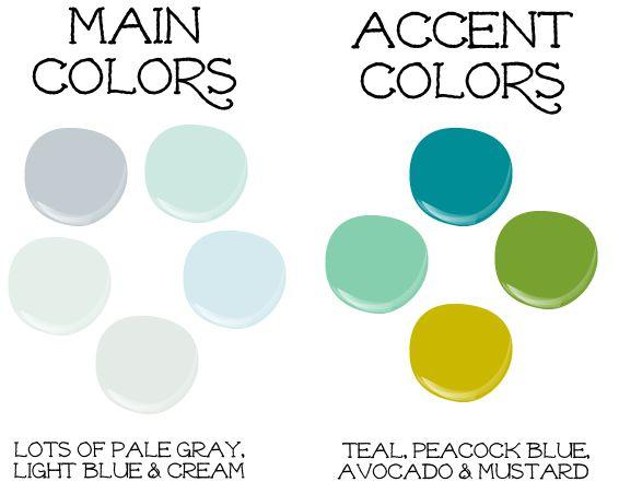 Color Palettes For Home 198 best paint colors / palette for house images on pinterest