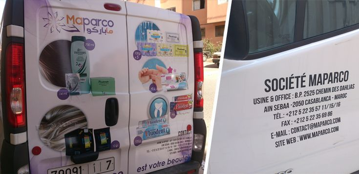 Habillage pas cher  complet ou partiel de votre véhicule au Maroc (Total covering, demi-habillage, Marquage, Lettrage) avec vinyle adhésif  ou peinture