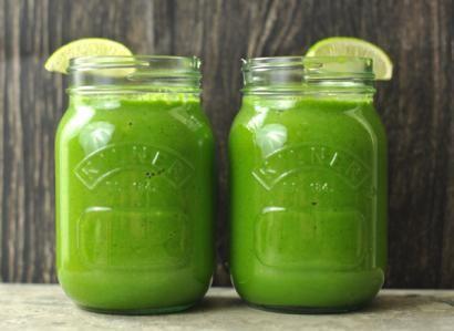 "Yeşil Smoothie ""Yeşil Smoothie""  https://yoogbe.com/soguk-icecekler/yesil-smoothie/"