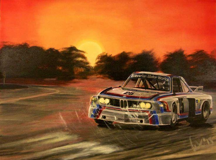 """Alle für einen"" Brian Redman - Sebring 12 Hours 1975 www.motorart27.com #art #oiloncanvas #oils #BMW #CSL #BavarianMotorWorks #Sebring #12Hours #1975 #BrianRedman #HansStuck #ArtEmpire #growyouraudience #instaart #racingart #LeMans #SteveMcQueen #McQueen #Sebring12Hours #Sebring #carart #sportscarart #printsuk #carprints #racing #kunst #spiegel #derspiegel.de"
