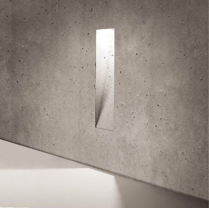 Bañador de suelo de cemento GHOST by SIMES diseño Marc Sadler