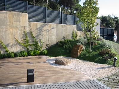 Paisajismo dise o de jardines jardinitis jard n moderno for Jardines secos modernos