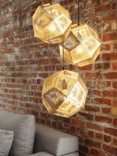 I´m in to lighting and especially Tom Dixon <3 http://www.tomdixon.net/products/uk/etch-shade-brass-with-fitting