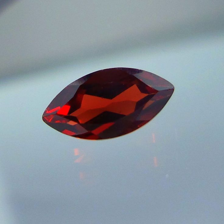 3.5x7 MM Top Quality Natural Mozambique Red Garnet Marquise Shape Cut Stone #Unbranded