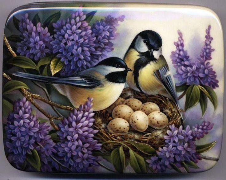 Russian Lacquer Box by Oleg Gavrilov