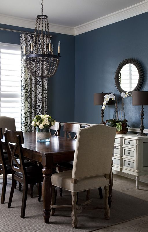 HGTV Magazine: Wow! What Color is That? | Click here to read about our dining room design in HGTV Magazine!