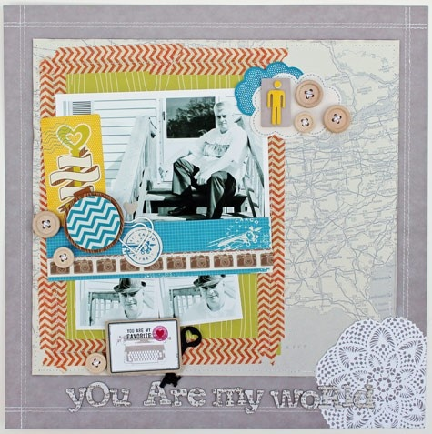 Melissa Mann - You are My World: Scrapbook Ideas, Scrapbook Layouts, Family, Scrapworthy Layouts, Things Scrapbooking, Composition Melissa, Scrapbook 12X12