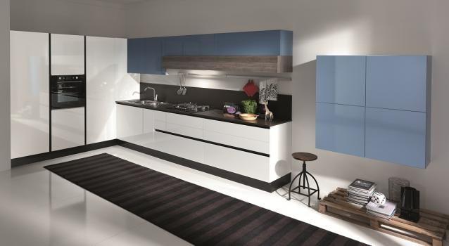Cucina Penelope - versione gola | Italian Design Kitchen - Cucine ...