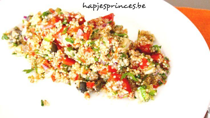 Zomerse quinoasalade
