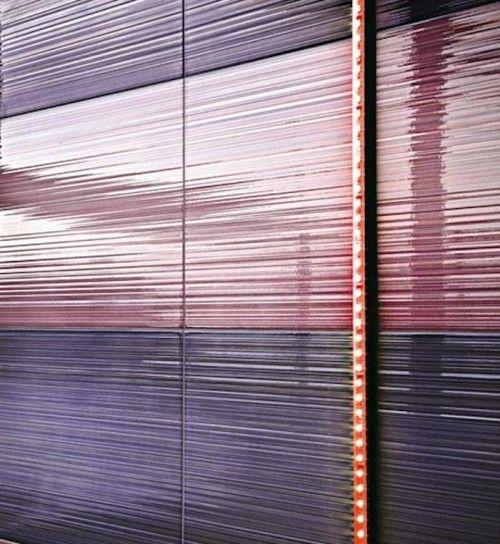 Hi-Line piastrelle bagno - HiLine piastrelle bagno Ragno con sfumature viola e lilla