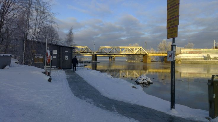 Ice swimming place, Mältinranta in #Tampere