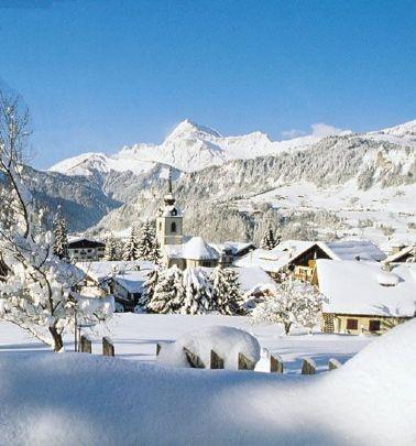 Notre-Dame de Bellecombe, Savoie, France.