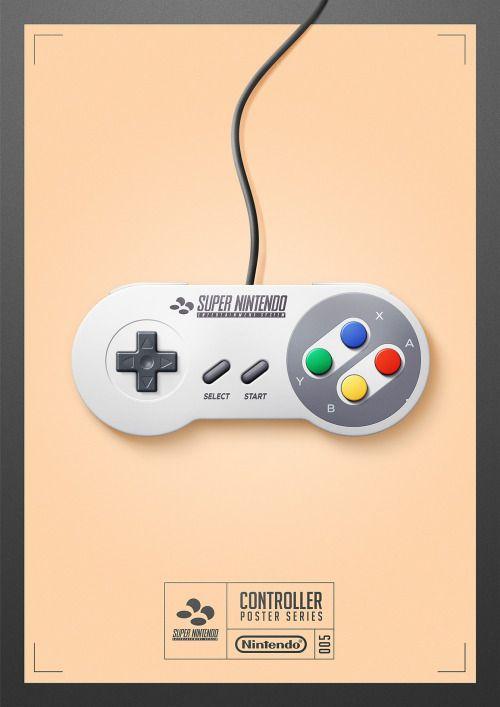 Mando Super Nintendo.