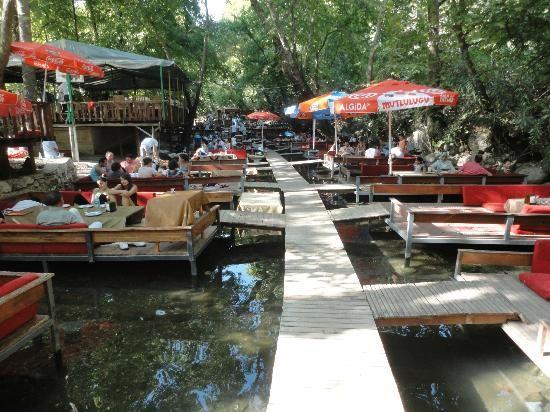 Botanik restaurant, Turkey