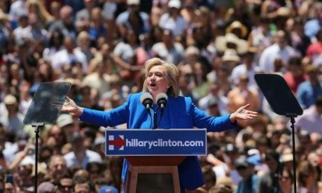 Hillary Clinton 2016 campaign rally on Roosevelt Island – as it happened | US news | The Guardian