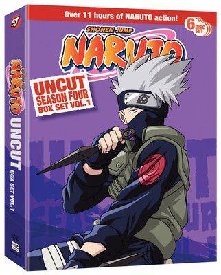 Crunchyroll - Naruto DVD Season 4 Box Set 1 Uncut