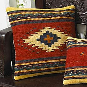 Western Throw PillowsDecor, Throw Pillows Colors, Zapotec Squares, Desugn Ideas, Squares Pillows