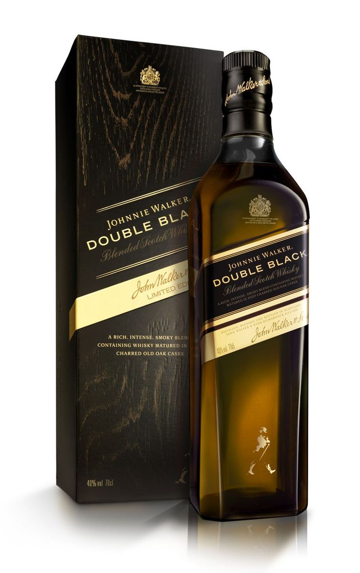 Johnnie Walker Double Black Label Blended Scotch Whisky 70 cl