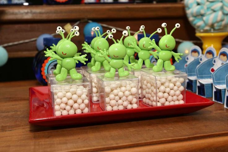 Noah's First Birthday Party - Outer Space Party | CatchMyParty.com