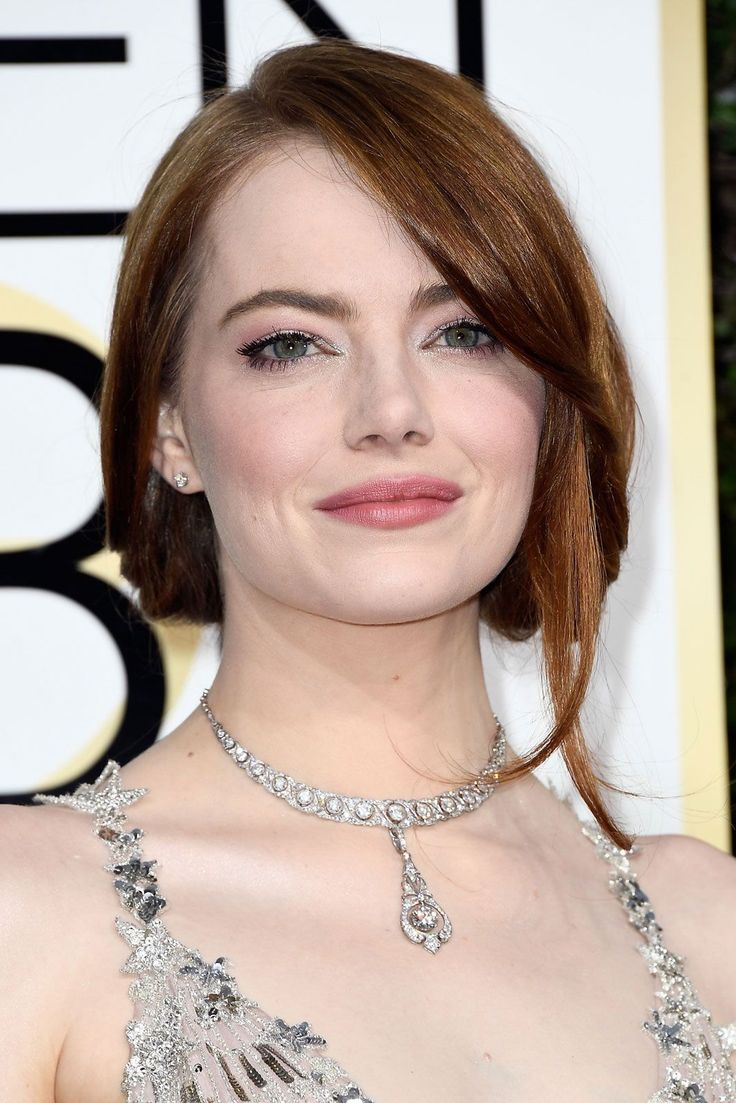 The Best Beauty Looks From The Golden Globes  #refinery29  http://www.refinery29.com/2017/01/135131/golden-globes-2017-best-hair-makeup-photos#slide-17  Emma StoneStone's effortless updo proves that elegant looks don't have to be complicated. ...