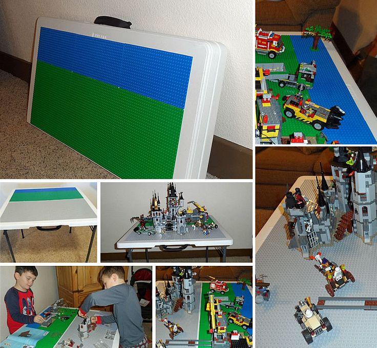 Поделки из лего: как сделать игровой стол для лего