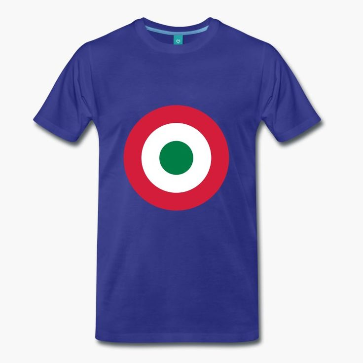 "Italia - Italy with a military twist. The shirt sports the Italian air force (Aeronautica miltare) roundel. https://shop.spreadshirt.fi/revolt-noir/""italia""-A106381485?appearance=317"