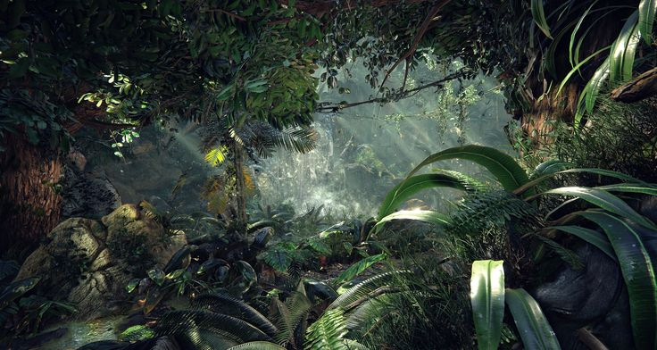 [UE4] Megascans Jungle - Polycount Forum