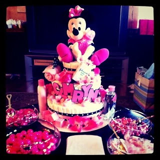 Eclectic Beauty: Minnie Mouse Baby Shower