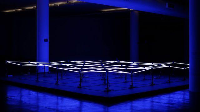 Love the duality in Gisela Motta & Leandro Lima's works. Tech x Nature. (Zero Hidrografico -2010, installation)